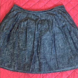 One time wore 💯% cotton MichaelKors skirt.